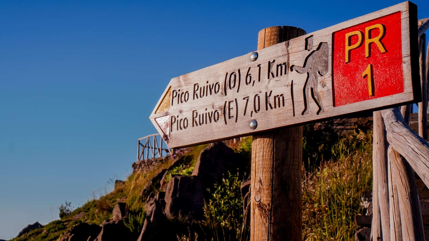 Zachód słońca na Pico do Arieiro